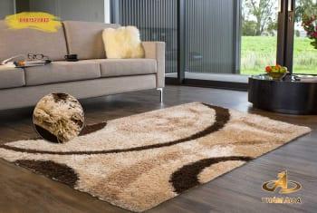 thảm lông xù, mẫu thảm trang trí đẹp